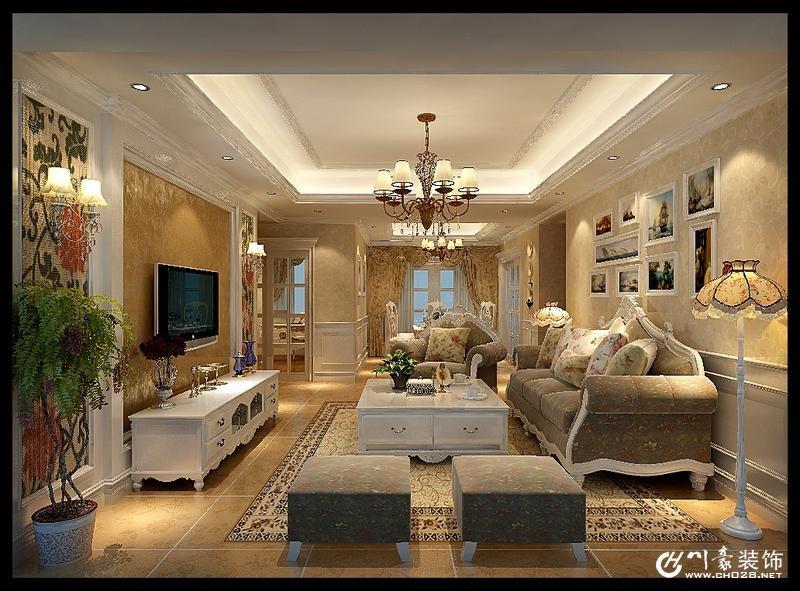 首页 家居装修 装修图片 欧式客厅装修风格图片展  3家公司竞标,比较