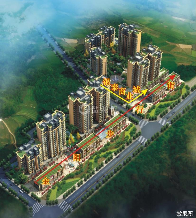韦业·新天地,项目位于自贡市沿滩区沿滩镇半岛大道