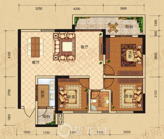 带铺面房屋设计图